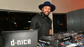 DJ D-Nice Helped the World Forget Their Troubles with the Sound of Music!