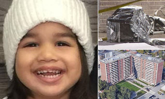 Toronto Toddler Crushed to Death by Falling Air Conditioner as Her Siblings Watched.