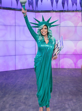 Lady Liberty Takes a Tumble! Wendy Williams Faints on Live TV! [WATCH]