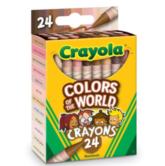 It's About Time! Crayola FINALLY Releasing Realistic Skin Tone Crayons!