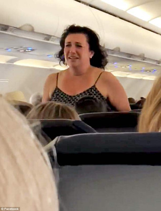 Woman Goes Ape***t on Spirit Airlines Flight! Tantrum Caught on Tape! [WATCH]
