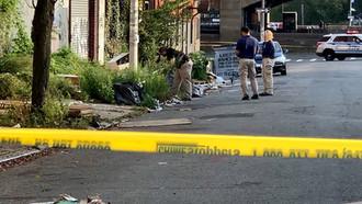Body of a Man Found in a Bag on a Brooklyn Sidewalk. Death Being Investigated as a Homicide.