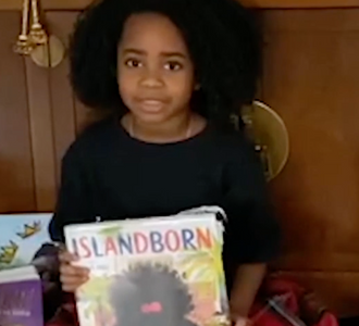 """5-Year-Old Launches Diversity Book Drive Because Characters in School Books """"Don't Look Like Her""""."""