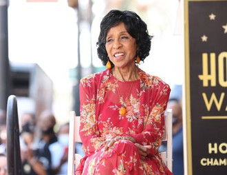 Marla Gibbs, 90, Nearly Faints After Being Overcome by Heat During Walk of Fame Acceptance Speech.