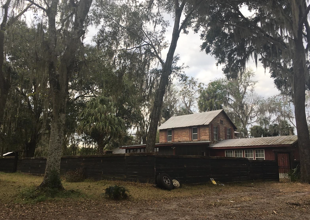 House of Prayer for All People in the 700 block of Southeast 138th Avenue off Wacahoota Road, near Micanopy from about 1985 to 1995.