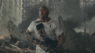 "Dwayne ""The Rock"" Johnson's New Film ""Rampage"" is King Kong on Steroids! [WA"