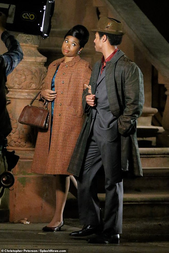 First Images of Jennifer Hudson and Marlon Wayans in the Aretha Franklin Biopic!