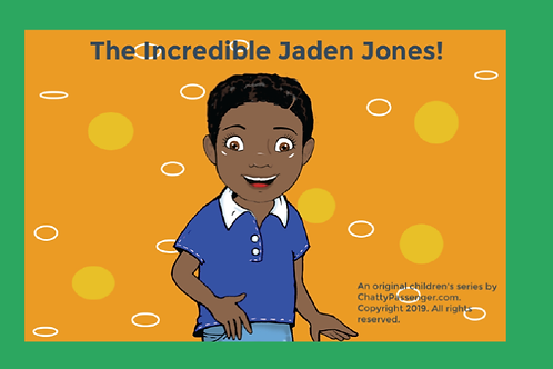 Introducing The Incredible Jaden Jones!