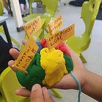 Afterschool STEM club modelling the huma