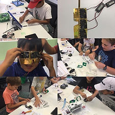 Moments from our Robotics and coding cam