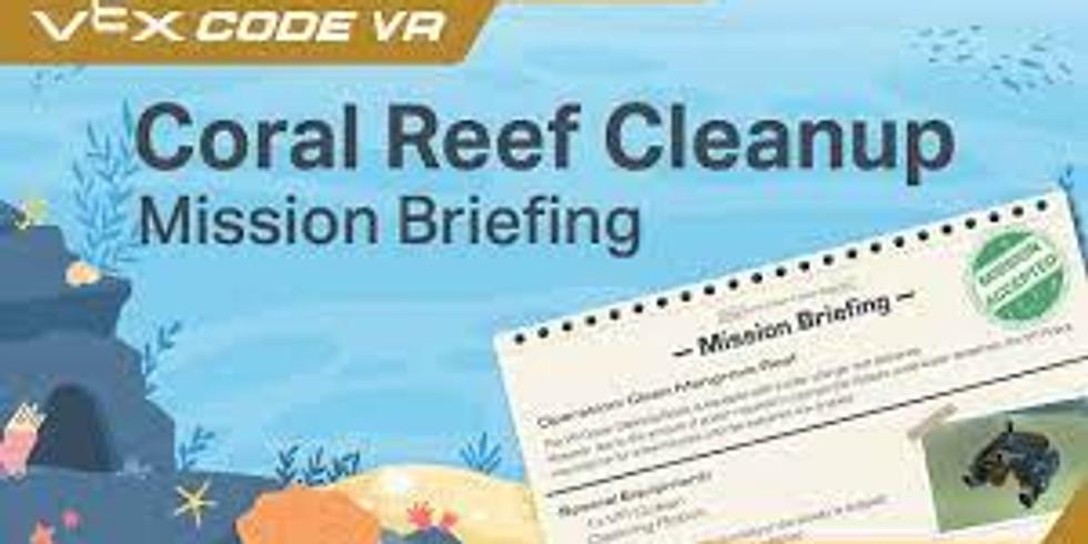 Code Camp - Coral Reef Cleanup