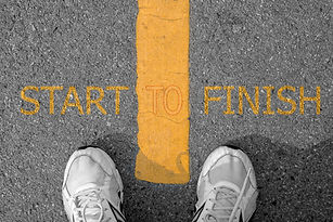 Feet looking down _ From poverty to power__ start to finish._Looking down _ start to finis