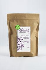 Bezglutenowa mąka ze skórek czerwonych winogron, wysoką zawartością błonnika