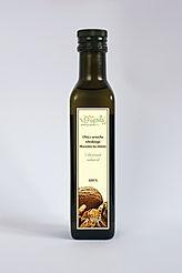olej z orzecha włoskiego, olej z orzechów włoskich, nierafinowany tłoczony na zimno