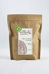 Bezglutenowa mąka z orzecha włoskiego, maka z orzechów włoskich, wysoką zawartością białka i błonnika