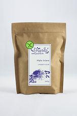 Bezglutenowa mąka lniana, wysoką zawartością błonnika i białka
