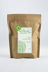 Bezglutenowa mąka z pestek dyni, wysoką zawartością białka i błonnika, białko roślinne