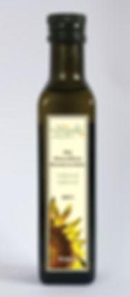 olej słonecznikowy nierafinowany tłoczony na zimno Grapoila