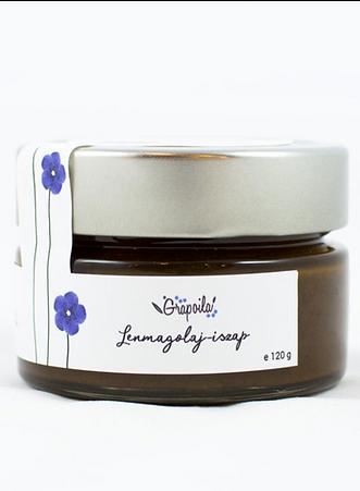Grapoila, Naturalne kosmetyki, maseczka peeling z nasion lnu, błoto z olejem lnianym, walka z egzema