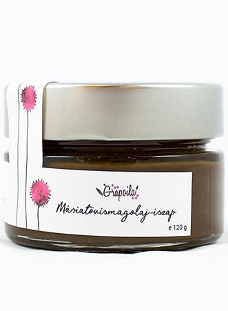Grapoila, Naturalne kosmetyki, maseczka peeling błoto z olejem z nasion ostropestu, walka z egzema