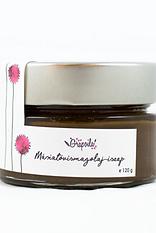 Grapoila, Naturalne kosmetyki, maseczka peeling błoto z nasion ostropestu, z olejem z nasion ostropestu