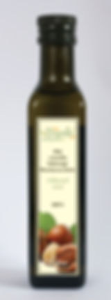 olej z orzecha laskowego, olej z orzechów laskowych, nierafinowany tłoczony na zimno Grapoila
