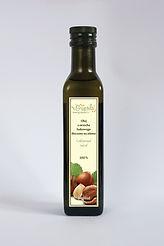 olej z orzecha laskowego, olej z orzechów laskowych, nierafinowany tłoczony na zimno