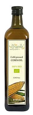 Olej kukurydziany Grapoila, olej z zarodkow kukurydzy tłoczony na zimno