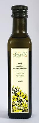 olej rzepakowy nierafinowany tłoczony na zimno Grapoila