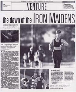 Iron Maidens Running Tribe NJ 5