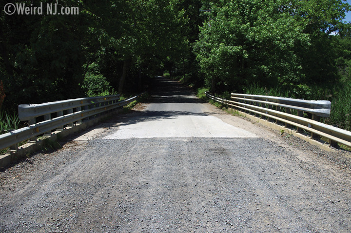Apparently, some of these dirt roads are haunted. They are featured in Weird NJ!