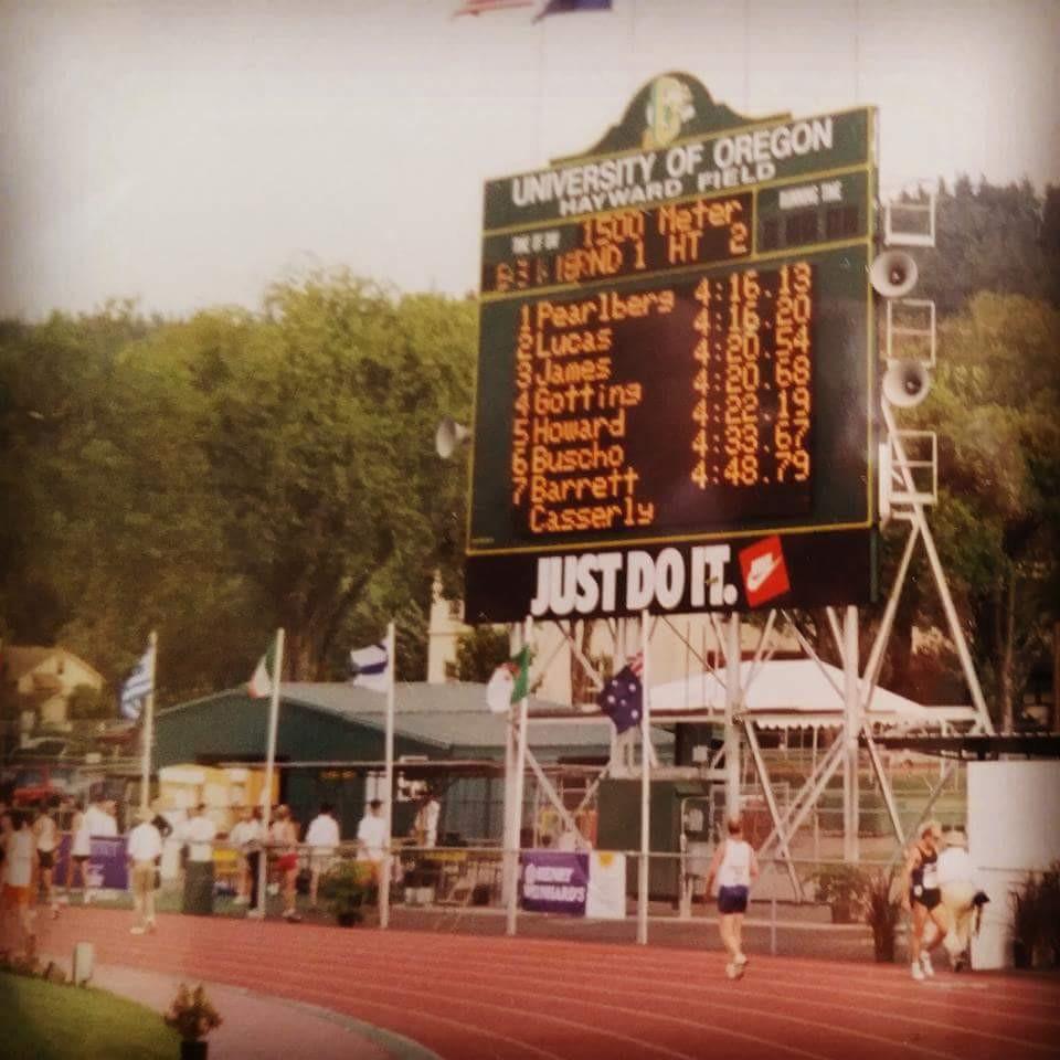 1998 Nike World Games 1500 meter Champion, Eugene Oregon