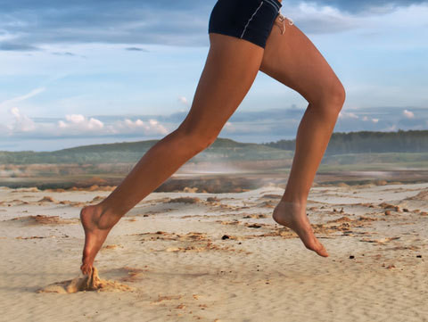 Conceptually barefoot running makes a great deal of sense but with discretion and caution