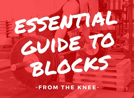 A Guide to Blocks: @ the knee
