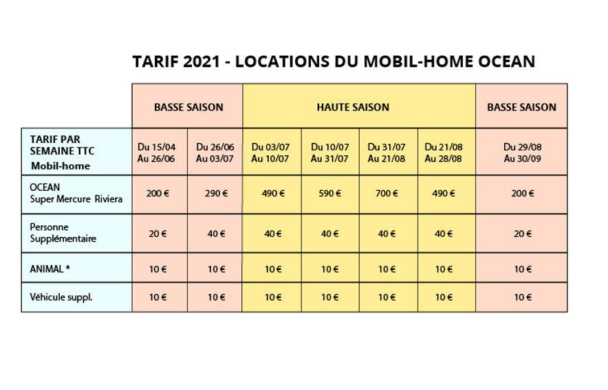 Tarif loc 2021_TARIF 2021 - LOCATIONS DE