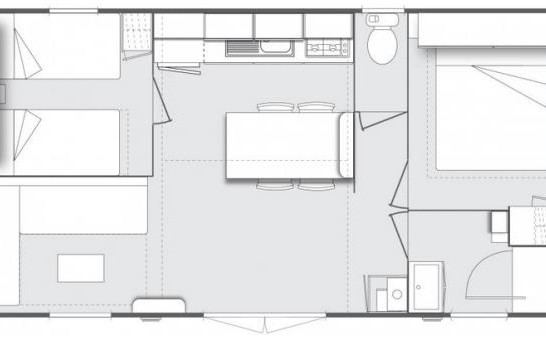 plan mobil-home DUNE