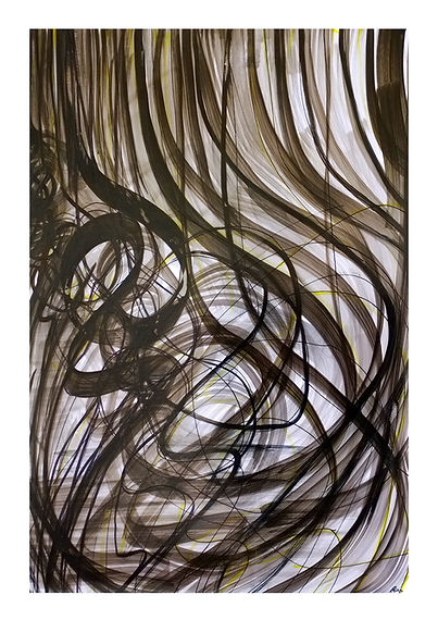 art abstract caligraphy