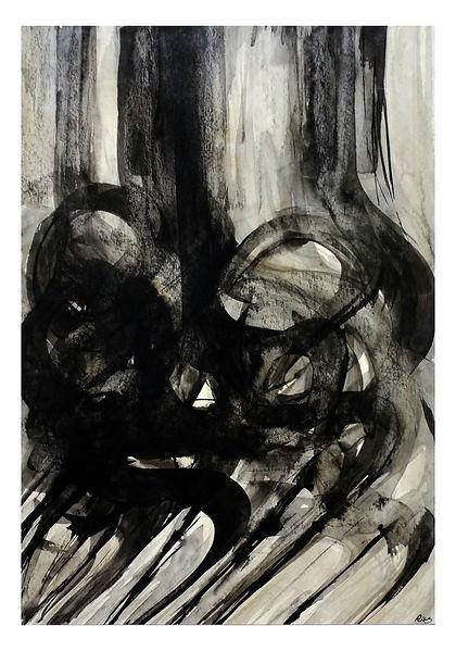 art abstract calligraphy