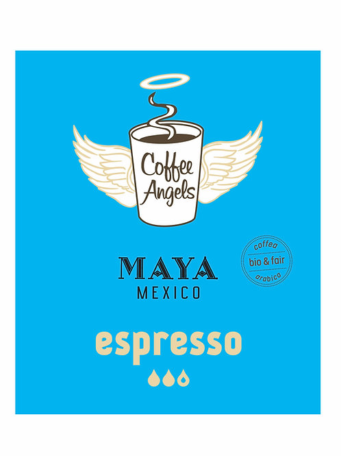 CoffeeAngels Bio-Espresso aus 100% Arabica