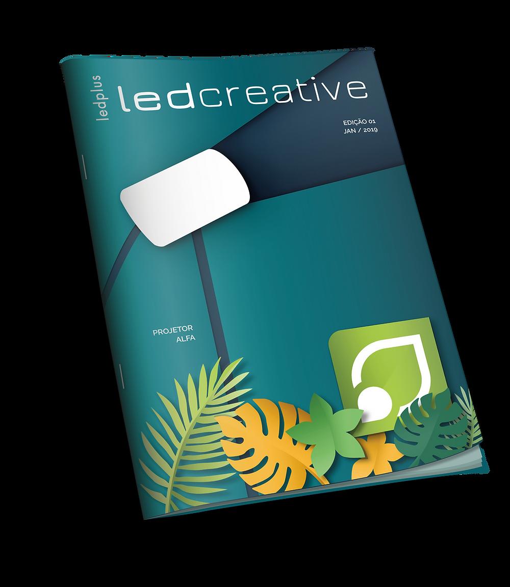 Capa 1ª Edição - Revista Ledcreative Ledplus