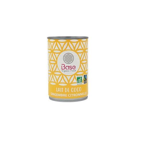 Lait de coco Gingembre Citronnelle BIO (400ml)
