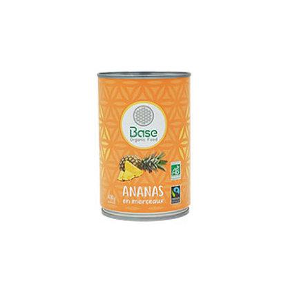Ananas en Morceaux BIO (430g)