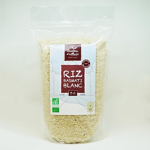 Riz Basmati Blanc Bio
