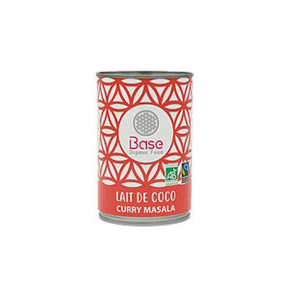 Lait de coco Curry Masala BIO (400ml)