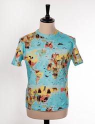 Wild-Life-Map T-Shirt for Men