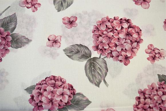 hortenzie velká růžová