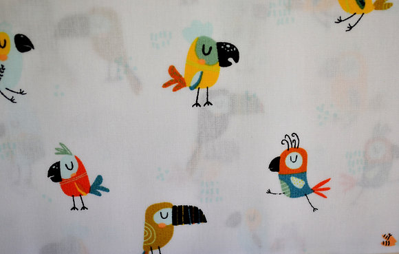 P popelín ptáčci