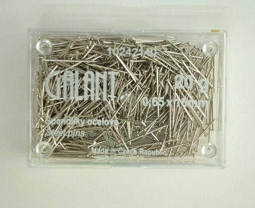 Špendlíky ocelové 16x0,65 20g
