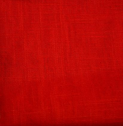 Len předepraný červený