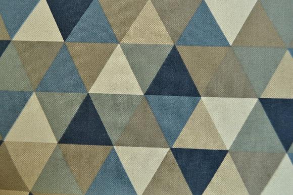 D trojúhelníky modré